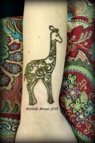 Client collects giraffes.